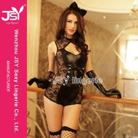 fancy dress sex sexy catwoman costume lingerie for men