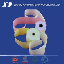 2 ply Carbonless paper NCR atm paper parts rolls