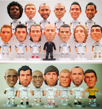Make custom mini 3d football player action figure/OEM plastic action figures/plastic toy football player factory