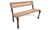 folding wood bench composite wood bench with back outdoor wood bench