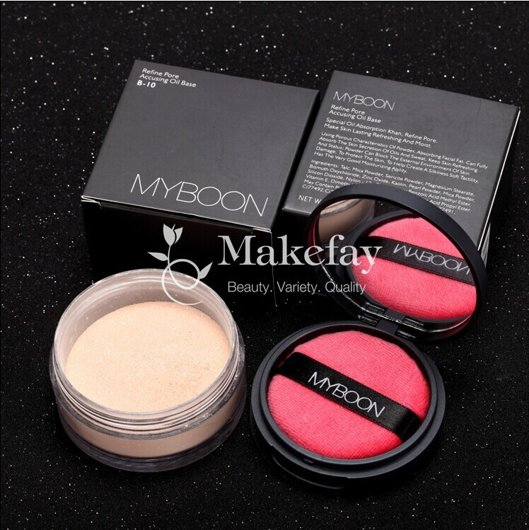 skin whitening foundation glitter face loose powder