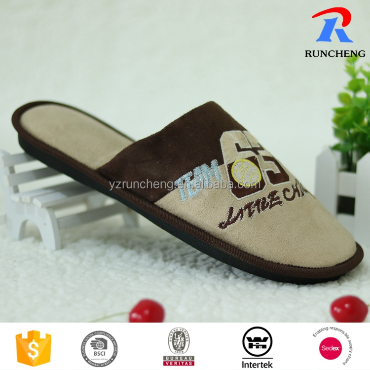 2016 new design fashion bedroom slippers spring shoes