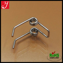 Custom Famous brand electrical equipment metal steel spiral custom small double torsion spring