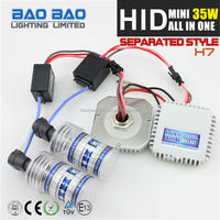Wholesale 12V 24V 35w 55w 2014 hot selling mini hid all in one,9005 all-in-one kit HID bulb 35w,auto hid,xenon --BAOBAO LIGHTING