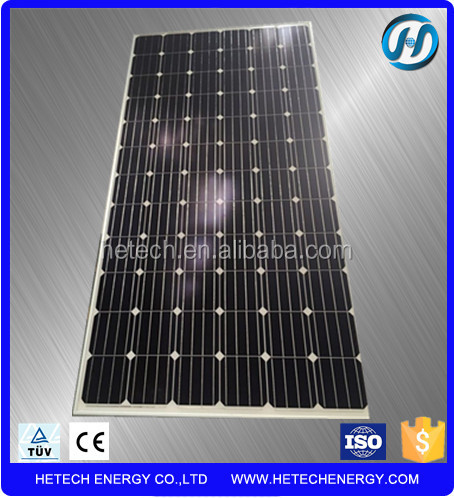 Monocrystalline 300w solar panel with micro inverter from alibaba china supplier