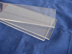 high temperature clear quartz glass pieces