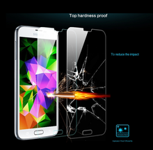 9 H temper glass screen protector for samsung galaxy series with retail package