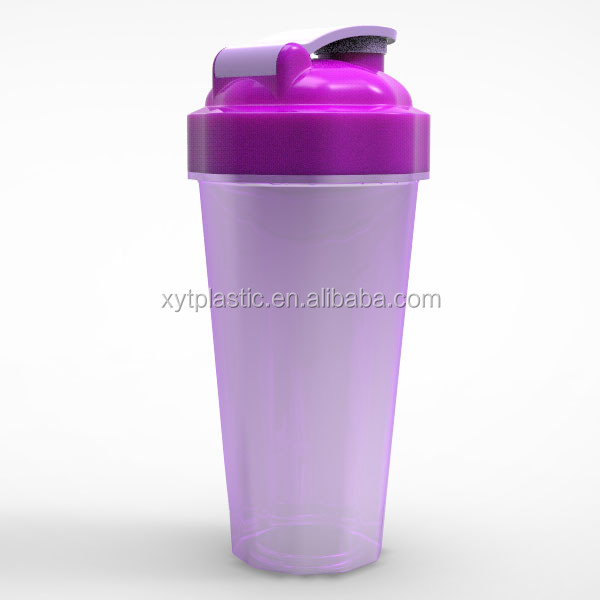 Promotion Item 600ML Protein PP Customized plastic egg shaker Shaker With Wire Whisk Ball