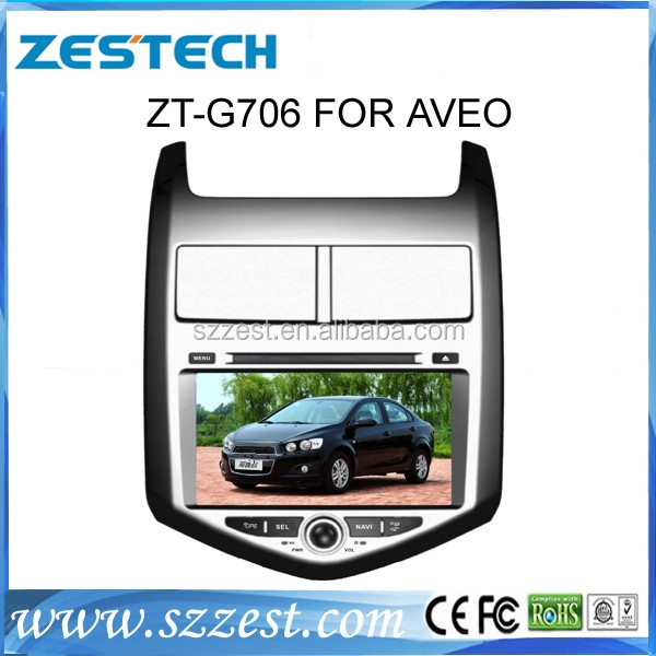 2 din touch screen car radio gps for chevrolet aveo auto parts with DVD/3G/Radio/Visual 10 dics