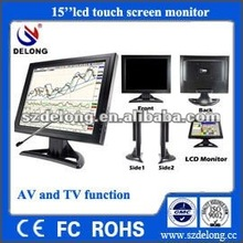"hot sale!15"" inch vga tft lcd touch screen monitor for pos machine"