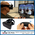 Wholesale Virtual Reality VR Headset 3D Video Glasses Google Cardboard Plastic Version for 3d Movies Games