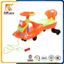 Wholesale child drivable toy car plastic kids small toy swing cars