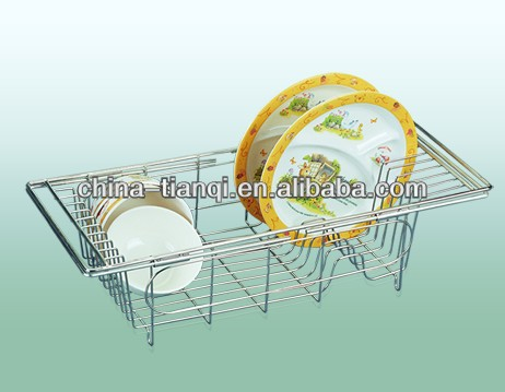 TC104 adjustable dish rack
