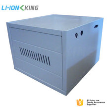 Flat Packed 12v 120Ah Solar Battery Cabinet C16 for 16pcs of 12V 120Ah Battery