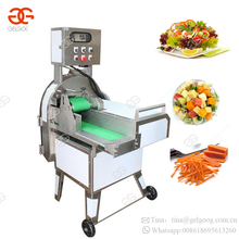 Automatic Vegetable Bell Pepper Beet Cube Cutting Potato Chips French Fry Strip Carrot Stick Electric Cabbage Cutter Machine