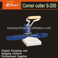 China No.1 Boway S-200 round corner paper cutting machine
