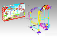 B/O toys roller coaster toy set with light for kids TB14060082