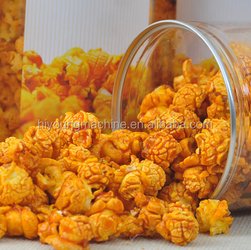 factory price caramel flavored sweet popcorn snack machine price