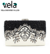 2017 Accessories For Bling Beaded Rhinestone Evening Box Clutch Bags For Party