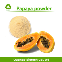 Pure natural papaya powder /papaya fruit powder papain powder free sample