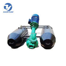 Vertical solid sand slurry discharge pump