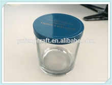 glass jars with lids and customer LOGO