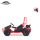 Hot selling EPA Kids Red 80CC Gas Pedal Go Kart with CE