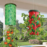 Hanging Garden Plant Bags Made From