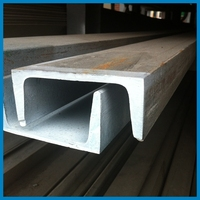 Galvanized Hot Rolled ASTM A36 Channel, BSC Carbon Bar, American standard, 6m, Steel Frame Joist and Handrail, C Strut House