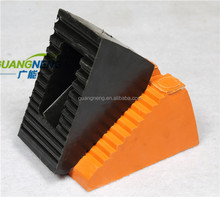 Solid Rubber Heavy Duty Wheel Chock/Rubber Wedge