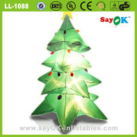 large led inflatable christmas tree indoor decoration