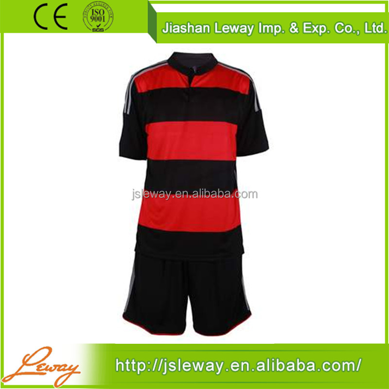 Latest low price slim fit ac milan custom soccer jersey