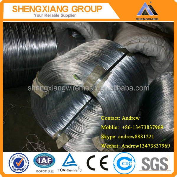 Galvanized Iron <strong>Wire</strong> BWG20 Hot Sale with good quality(Manufacture Factory)