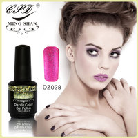 No028 mingshan manicure 176 color set of dazzle color nail polish