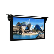 22 Inch Back Fixing Lcd HD Custom Tft Video Bus Advertising Monitor