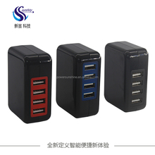 Universal USB Wall Charger 4 Multi Port 5V 12V 2A 4.2A 4.8A Smart Wireless 4Ports Charging Hub Portable Power adapter