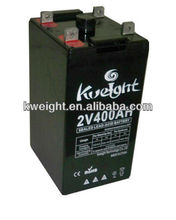 2V 400ah 2 volt deep cycle battery for battery inverter