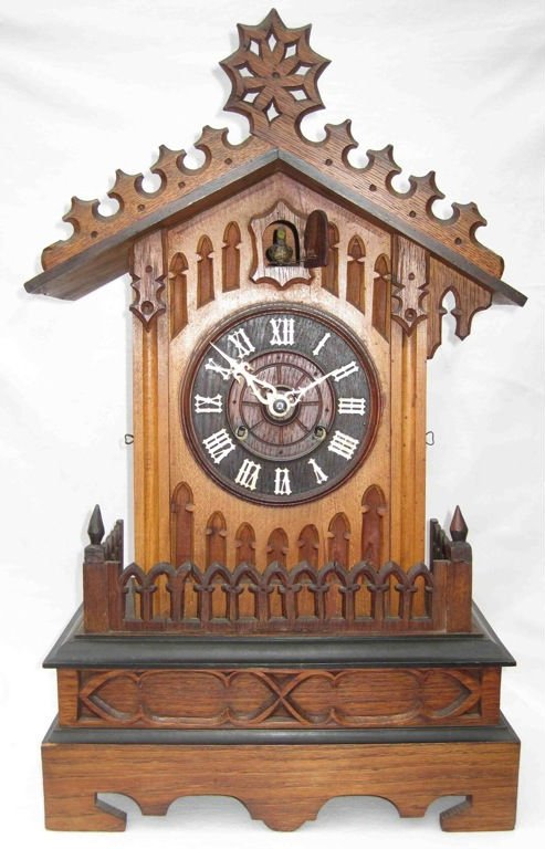Antique Cuckoo table clock