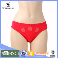 Super Grade Fashion Hipster Hot Girl Red Lace Thong Panties