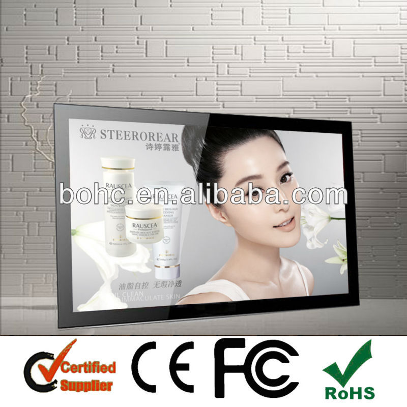37 Inch New Subway Equipment For Advertising