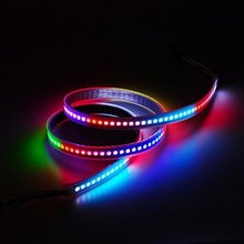 New style WS2812B RGB LED Strip 144 LED ws2812 IC Individual Addressable 5V SMD5050