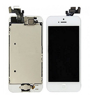 Wholesale with small parts LCD Touch Screen Digitizer Frame Assembly Full Set LCD Touch Screen Replacement for iPhone 5 5G