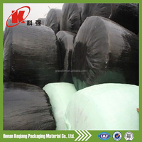 packaging plastic green silage bale wrap film for agriculture