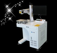 China fiber laser marking and engraving machine for barcode printer for metal