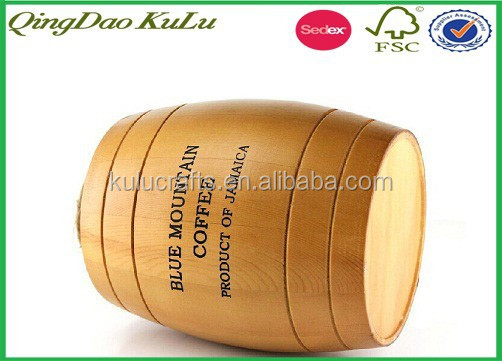 durable nature wood small milk storage kegs