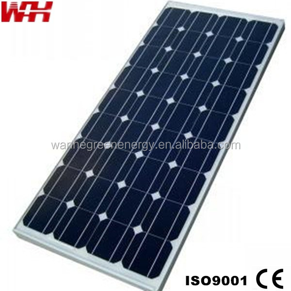 High stable power generator monocrystalline solar panel