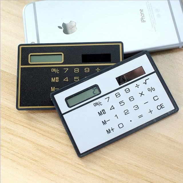 Cheap ultra thin business card calculator