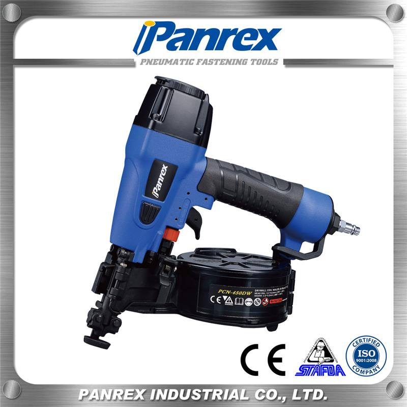 Hot selling pneumatic stapler with low price pneumatic stapler gun for wood wood nail gun