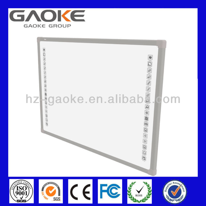 Electromagnetic smart board touch screen digital menu board