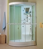 Shower Bath Bathroom Ideas Bagno Con Doccia with Glass Door Single Seat Multifunctional Corner Steam Room 2013 G265
